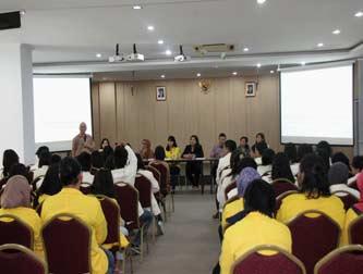 Kunjungan Fakultas Bahasa dan Sastra, Universitas Kristen Satya Wancana, Salatiga
