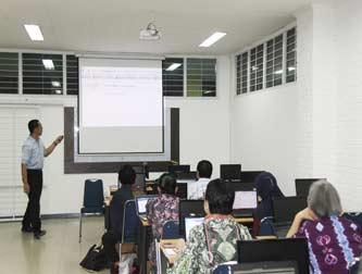 Pelatihan Presentasi Penelitian oleh PPKB FIB UI