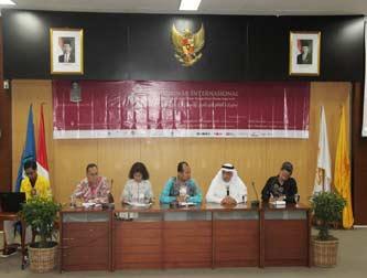 Seminar Internasional  Dinamika Budaya Timur Tengah Pasca Musim Semi Arab (Arab Spring)