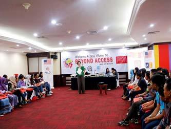 Semangat Membangun Komunitas lewat Access Alumni Gathering, Beyond Access