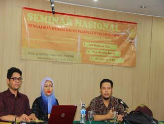 Seminar Nasional Pengajaran Bahasa dalam Perspektif Lintas Budaya