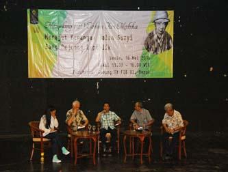 "Diskusi: ""Menjelang 120 Tahun Tan Malaka: Merajut Kenangan Jalan Sunyi  Sang  Pejuang Republik"""