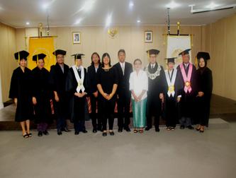 Promosi Doktor Ilmu Filsafat Yohanes Sumaryanto