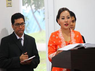 Promosi Doktor Linguistik Sonya Puspasari Suganda