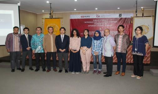 Presentasi dan Pemberian Beasiswa Mitsubishi UFJ Lease & Finance Co. Ltd kepada Mahasiswa FI