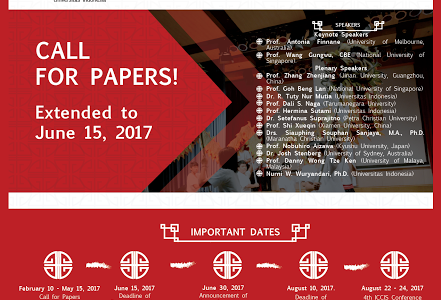 The 4th International Confrence on Chinesse Studies