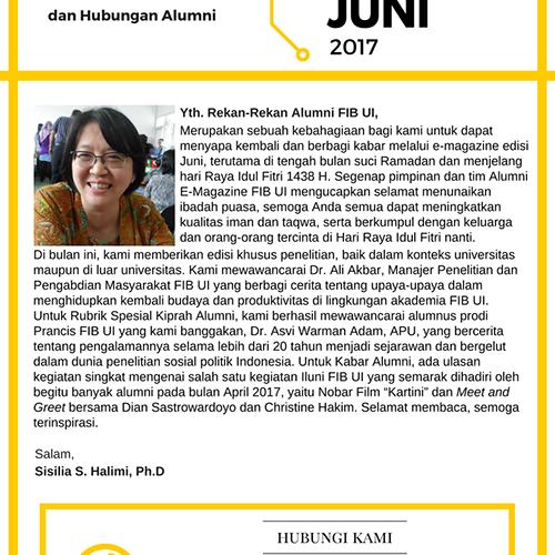 e-Magazine Alumni FIB UI Edisi Juni 2017