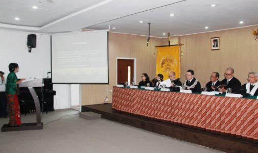 Promosi Doktor Ilmu Susastra Rajadheng  Pulungsari, M.Hum.