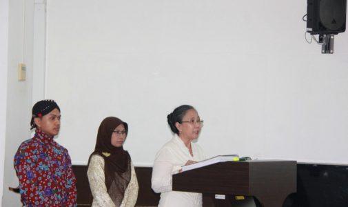 Promosi Doktor Ilmu Susastra Turita Indah Setyani, M.Hum.