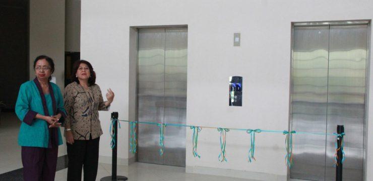 Peresmian Lift Gedung X FIB UI