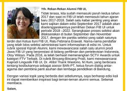 e-Magazine Alumni FIB UI Edisi September 2017