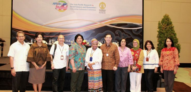 The Asia-Pacific Reseach in Social and Humanities-Univesitas Indonesia