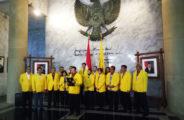 Rektor UI Bersama Para Pimpinan UI membacakan Pernyataan Universitas Indonesia
