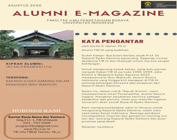 Majalah Daring Alumni Edisi Agustus 2020