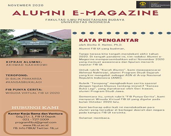Majalah Daring Alumni Edisi November 2020