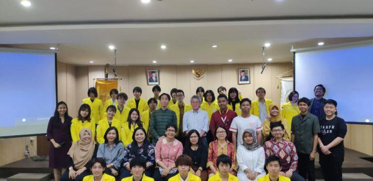 Pertukaran Mahasiswa Asia University Jepang ke FIB UI Tahun Ajaran 2019/2020