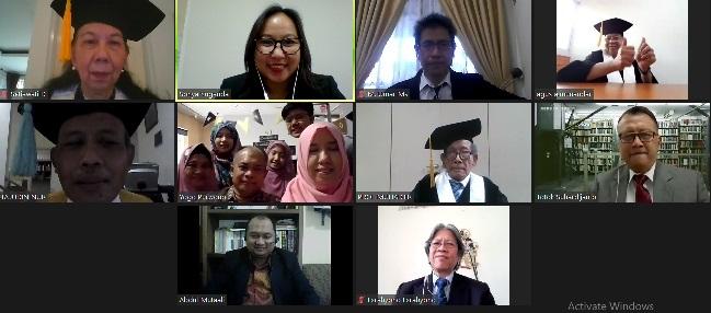 Promosi Doktor Linguistik Sdr. Zaqiatul Mardiah