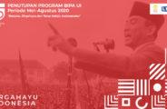 """Mengusung Tema """"Bersatu, Dirgahayu, dan Terus Melaju Indonesiaku"""", LBI FIB UI Menggelar Acara Penutupan Program BIPA Reguler Periode Mei-Agustus 2020"""
