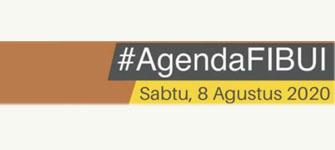 Agenda FIB UI. Sabtu, 8 Agustus 2020