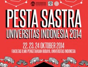 Pesta Sastra Universitas Indonesia 2014
