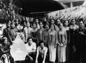 Mahasiswa Sastra Jawa FIB UI Tahun 1960an